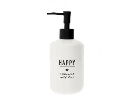 Soap Dispenser white 18x8cm