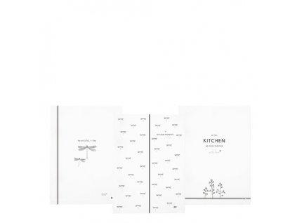 Kitchen Towels 50x70 White Dragon Fly  Kitchen Towels 50x70 White Dragon Fly