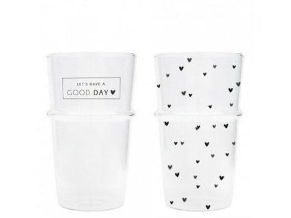 sklenice good day mini srdicka cerna 1 ks ph tumbl latte 005