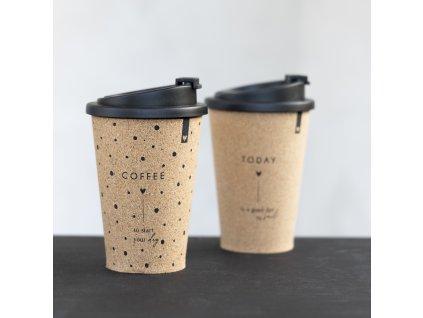 COFFEE TO GO S NÁPISEM  COFFEE