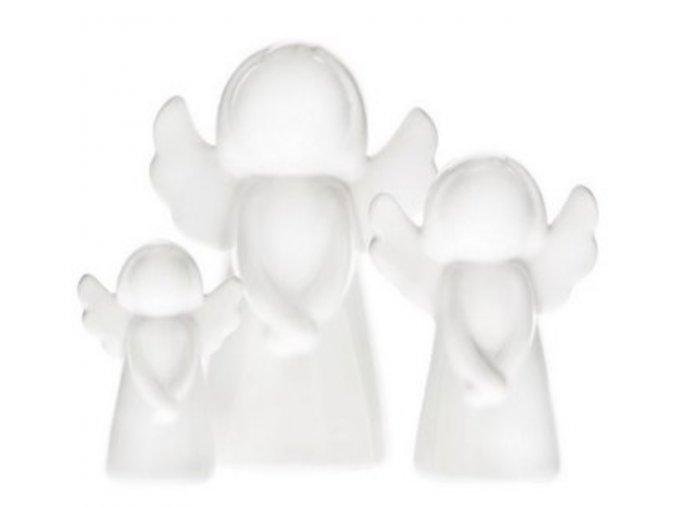 Anděl keramický baculatý