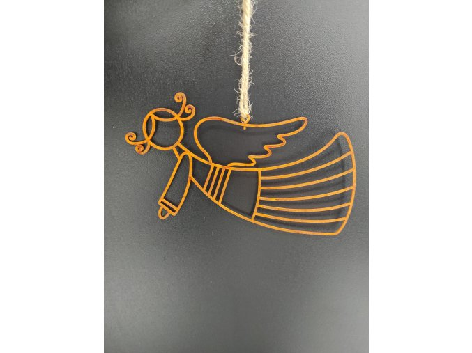 Anděl rezavý letící