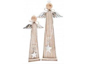 Anděl dřevěný