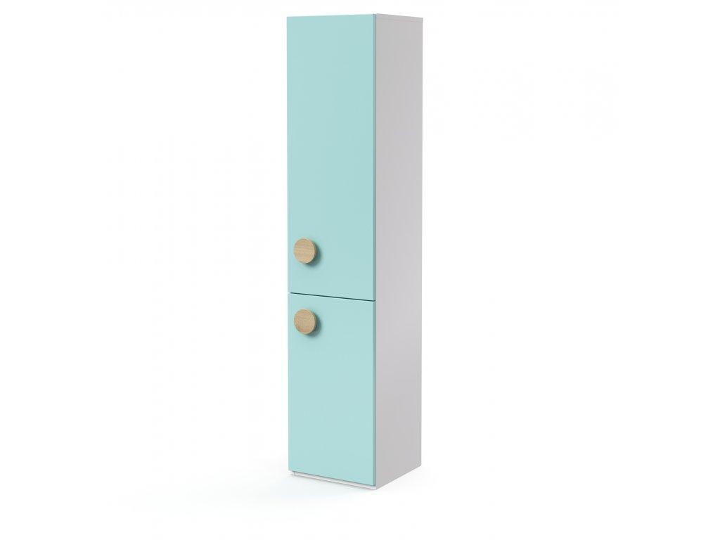 skříň vysoká 2-dveřová pravá (D-SK-540-03-P)