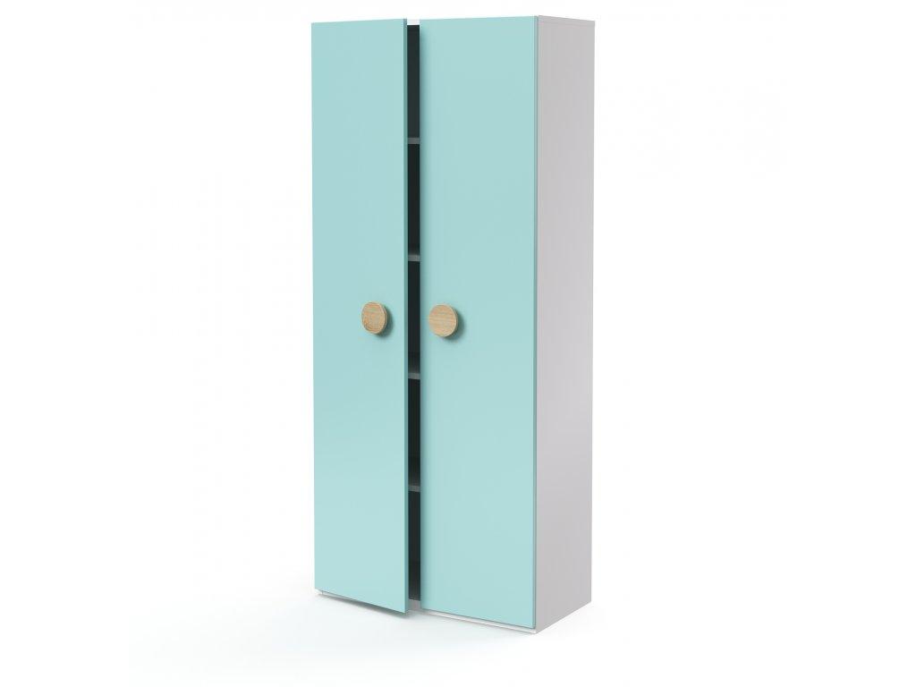 skříň vysoká 2-dveřová (D-SK-580-02)