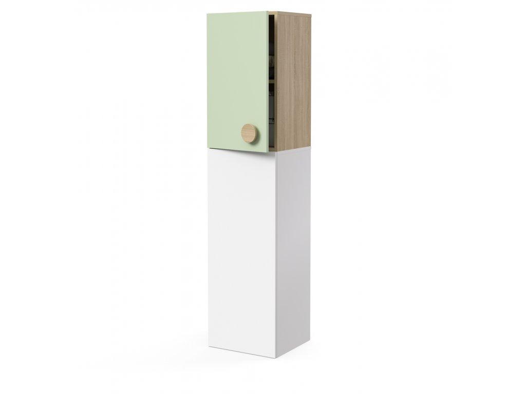 skříň nástavná 1-dveřová levá (D-SKN-240-02-L)
