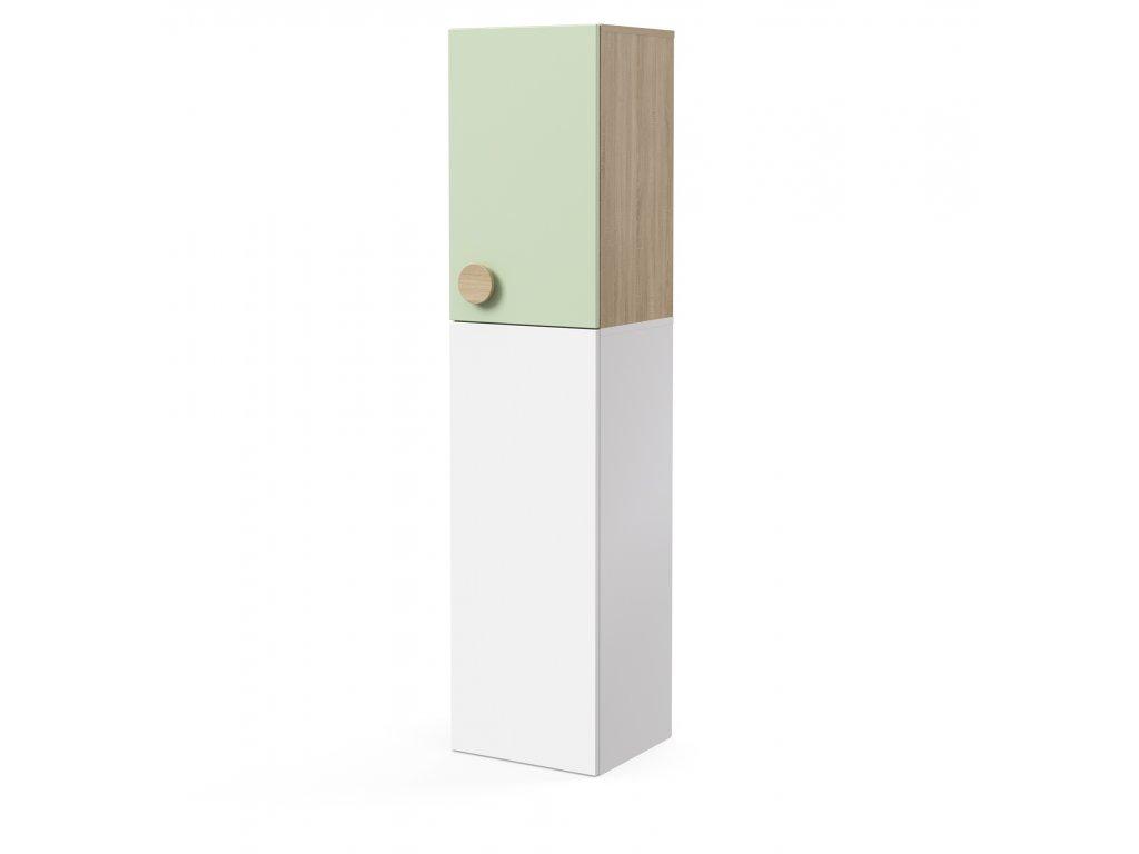 skříň nástavná 1-dveřová pravá (D-SKN-240-02-P)