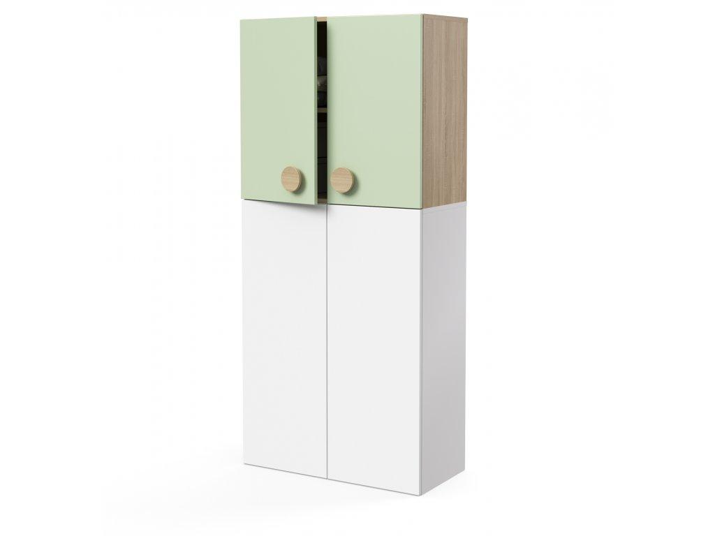 skříň nástavná 2-dveřová (D-SKN-280-02)