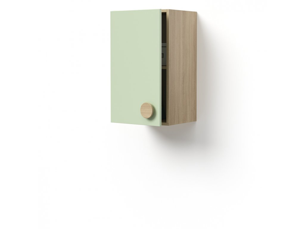 skříň závěsná 1-dveřová levá (D-SKZ-240-02-L)