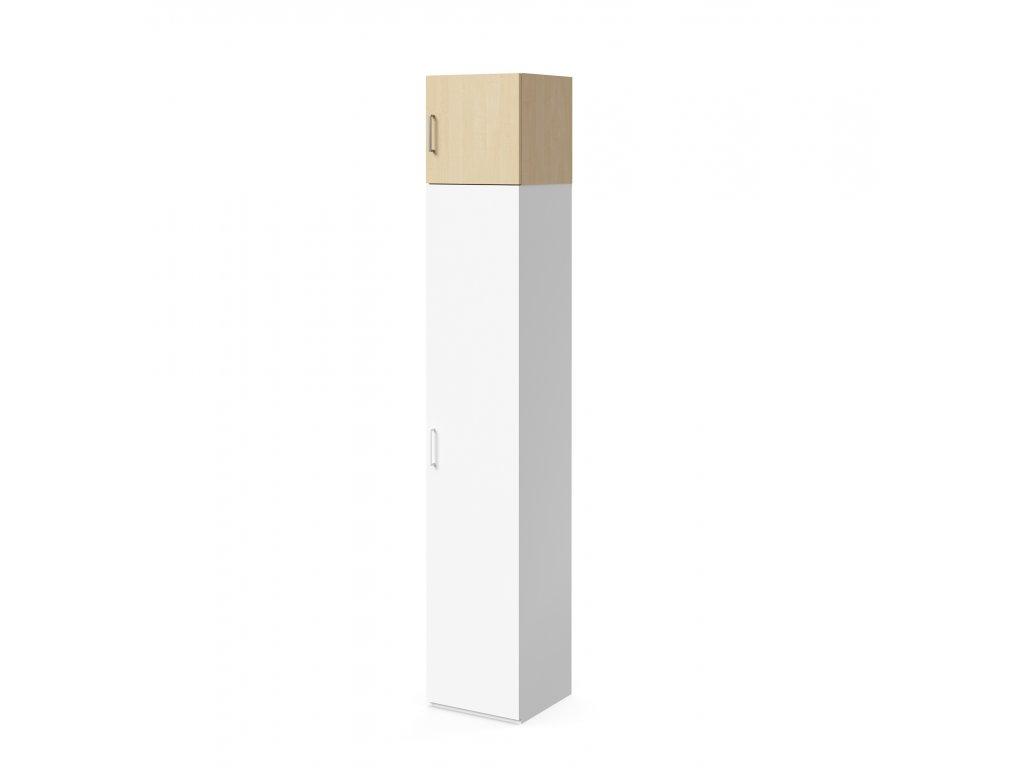 skříň nástavná výšky 40 cm 1-dveřová pravá (S-SKN-40-30-02-P)