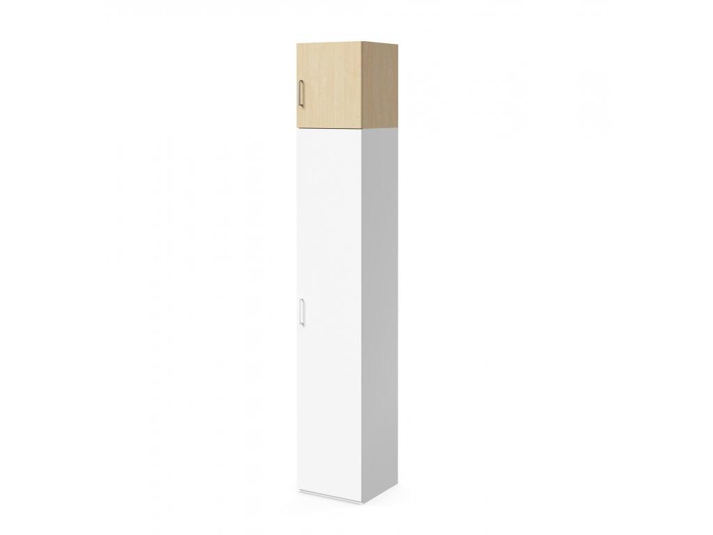 skříň nástavná výšky 45 cm 1-dveřová levá (S-SKN-45-30-02-L)