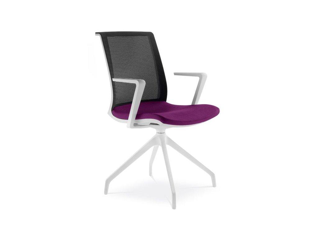 213 F90 WH LYRA NET konferencni židle