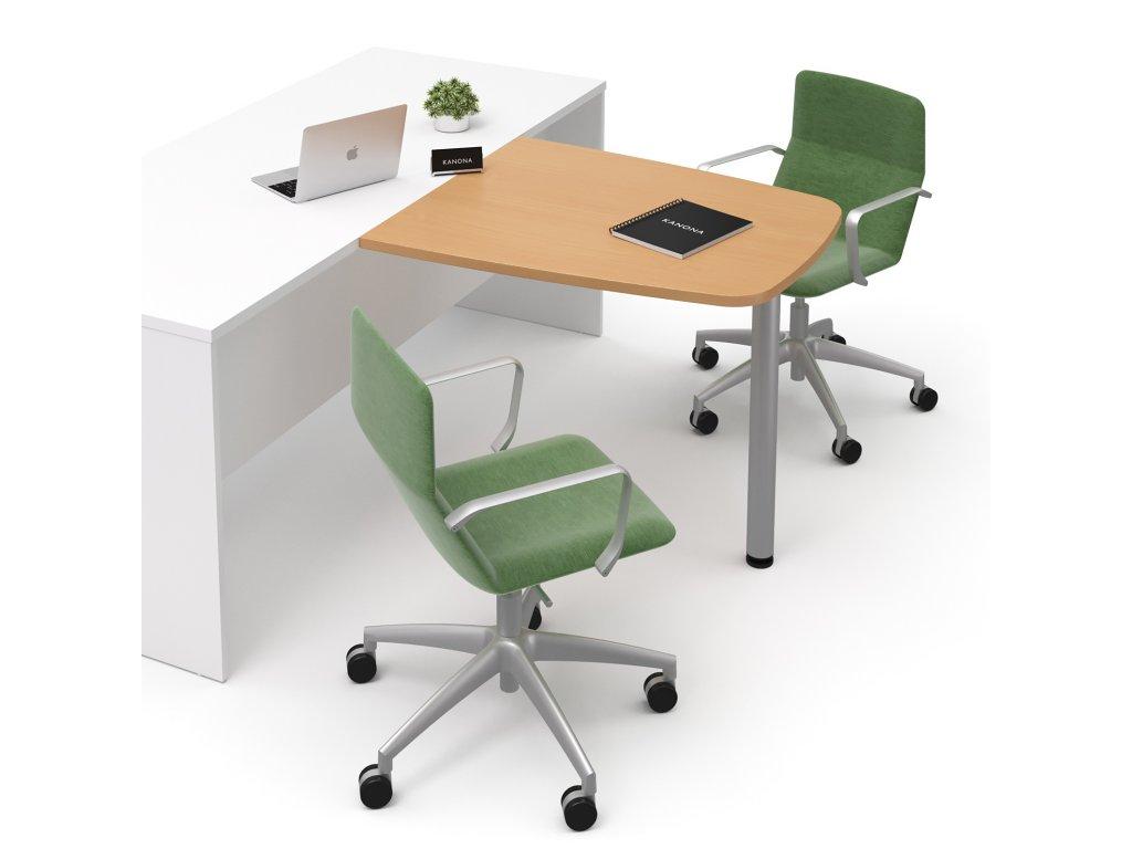 E JN 10 buk jednaci nastavba kancelarsky nabytek KANONA