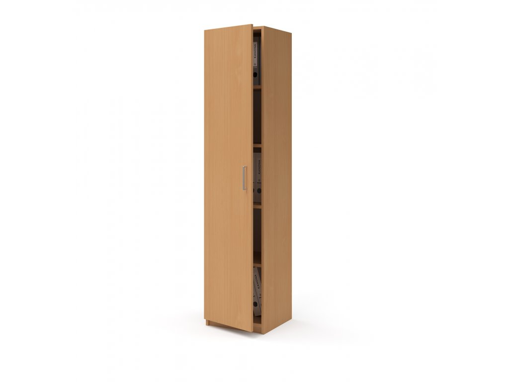 E SK 540 02 L buk skrin vysoka dverova kancelarsky nabytek KANONA