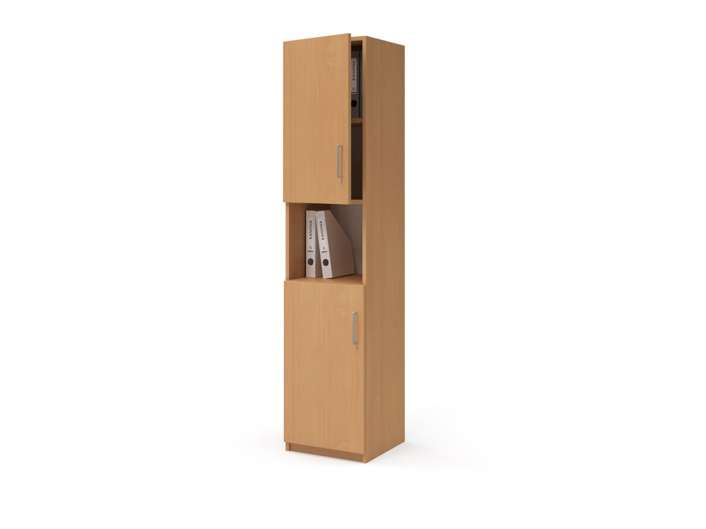 E SK 540 03 N L buk skrin vysoka dverova kancelarsky nabytek KANONA