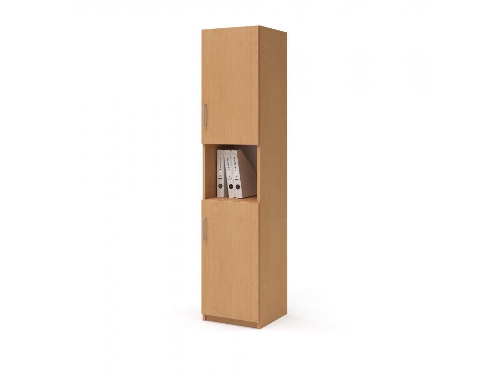 E SK 540 03 N P buk skrin vysoka dverova kancelarsky nabytek KANONA