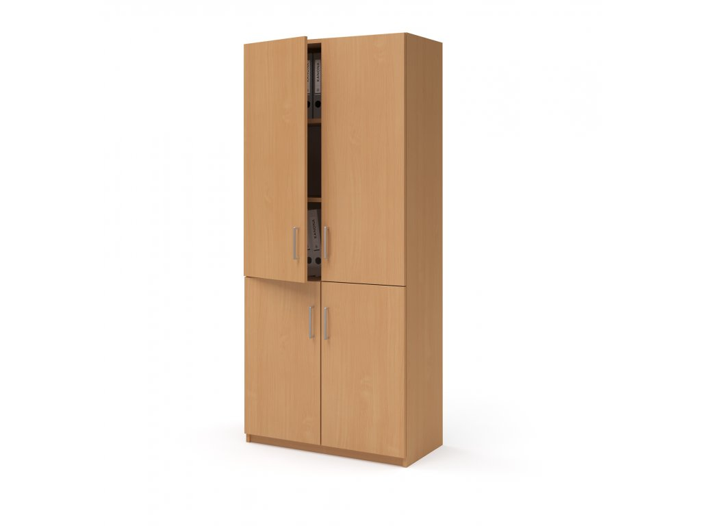 E SK 580 03 buk skrin vysoka dverova kancelarsky nabytek KANONA