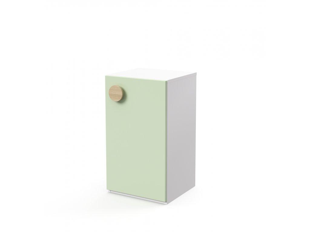 skříň nízká 1-dveřová pravá (D-SK-240-02-P)