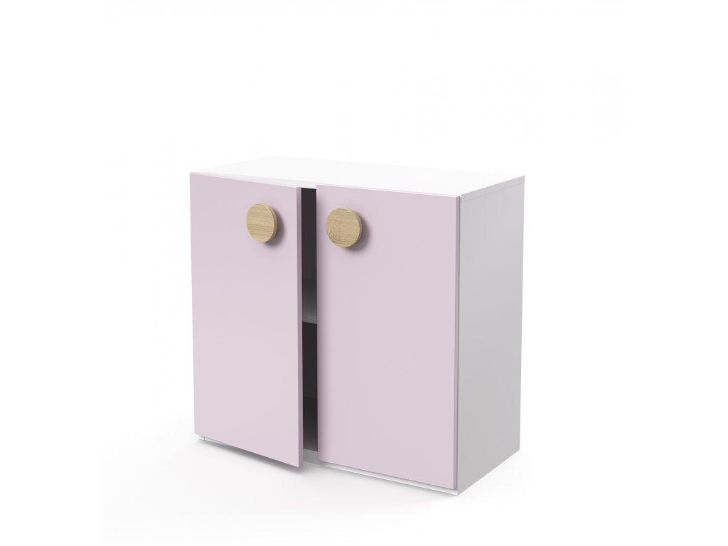 skříň nízká 2-dveřová (D-SK-280-02)