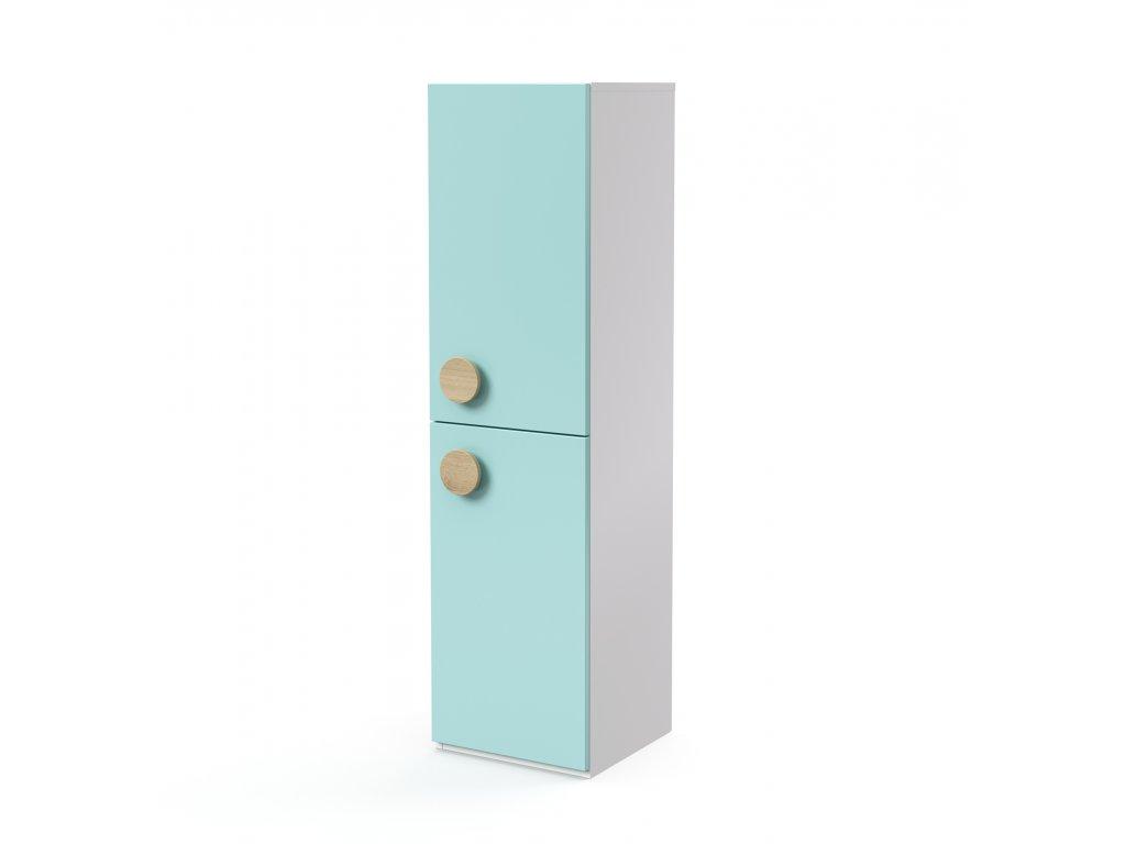 skříň midi 2-dveřová pravá (D-SK-440-03-P)