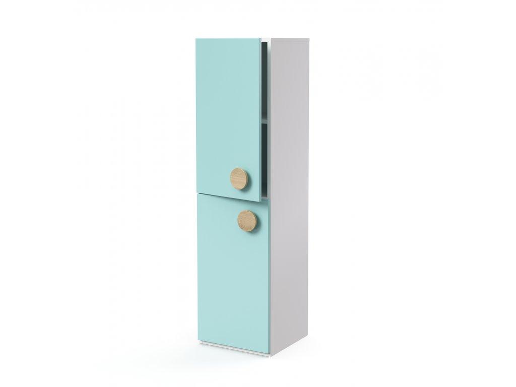 skříň midi 2-dveřová levá (D-SK-440-03-L)