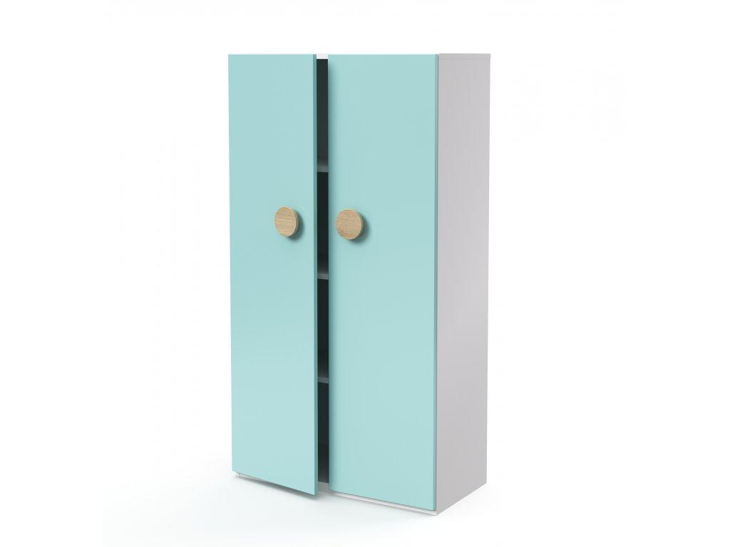 skříň midi 2-dveřová (D-SK-480-02)