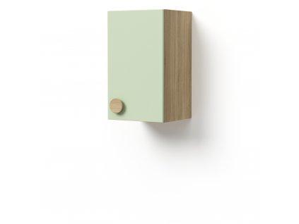 skříň závěsná 1-dveřová pravá (D-SKZ-240-02-P)