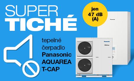 Super tiché tepelné čerpadlo Panasonic