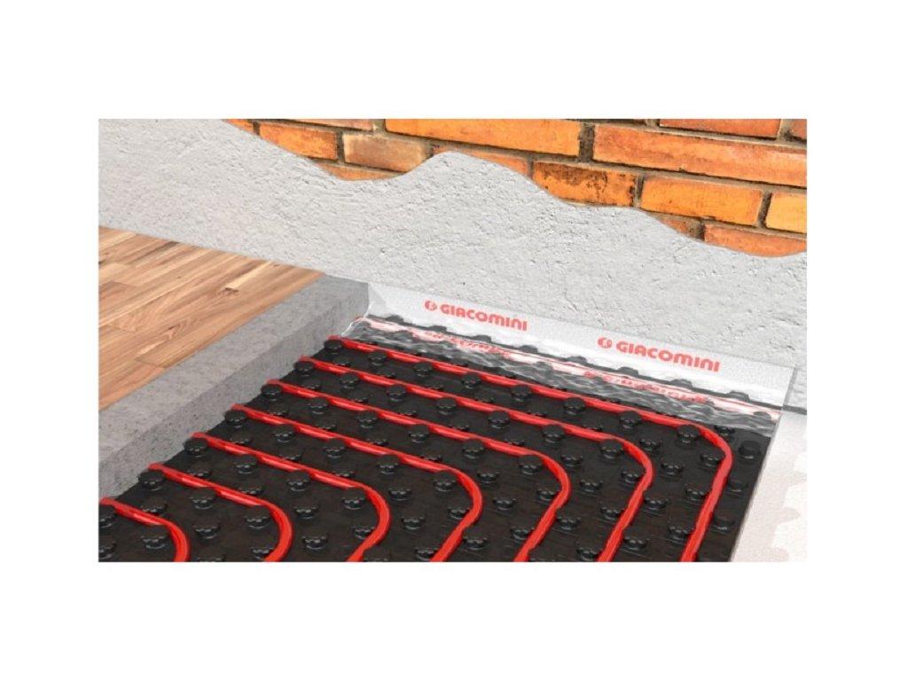 podlahove topeni giacomini