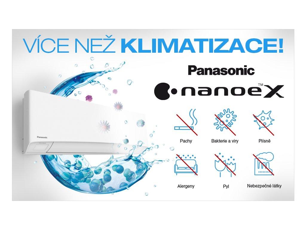 Banner klimatizace Panasonic Etherea virus