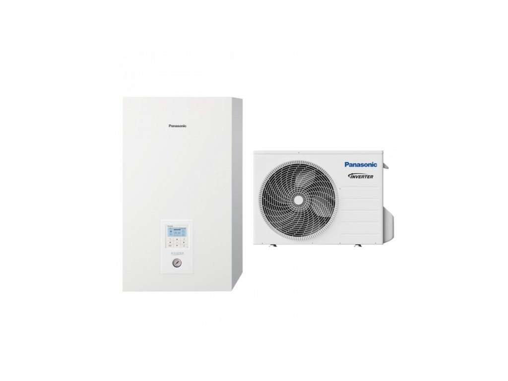 Hydrobox a venkovní jednotka Panasonic Aquarea 3 kW