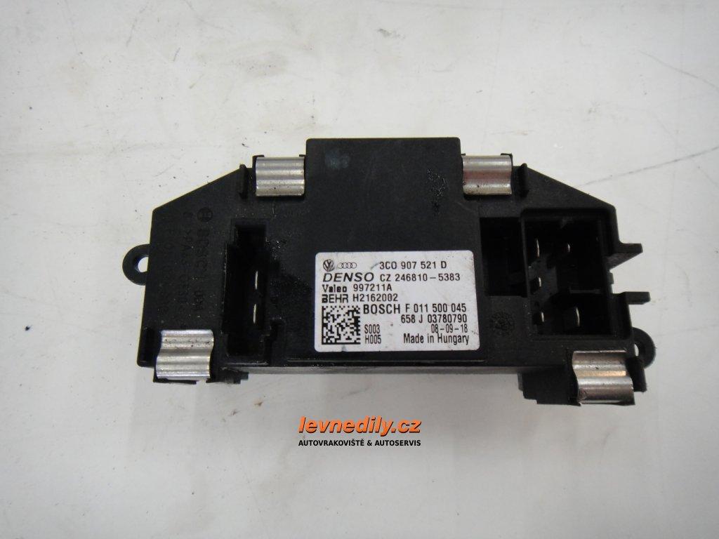 3C0907521D regulátor ventilátoru topení VW Audi Škoda Seat