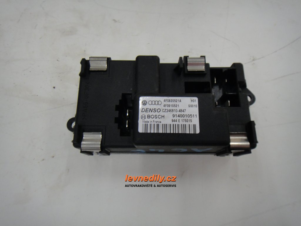 4F0820521A regulátor ventilátoru topení Audi
