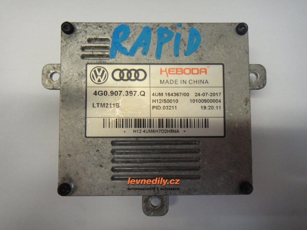 Řídící jednotka pro xenon 4G0907397Q Škoda Audi