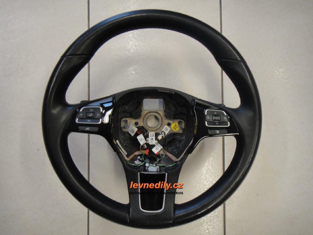 Multifunkční volant VW Touareg 7P6419091T NGB