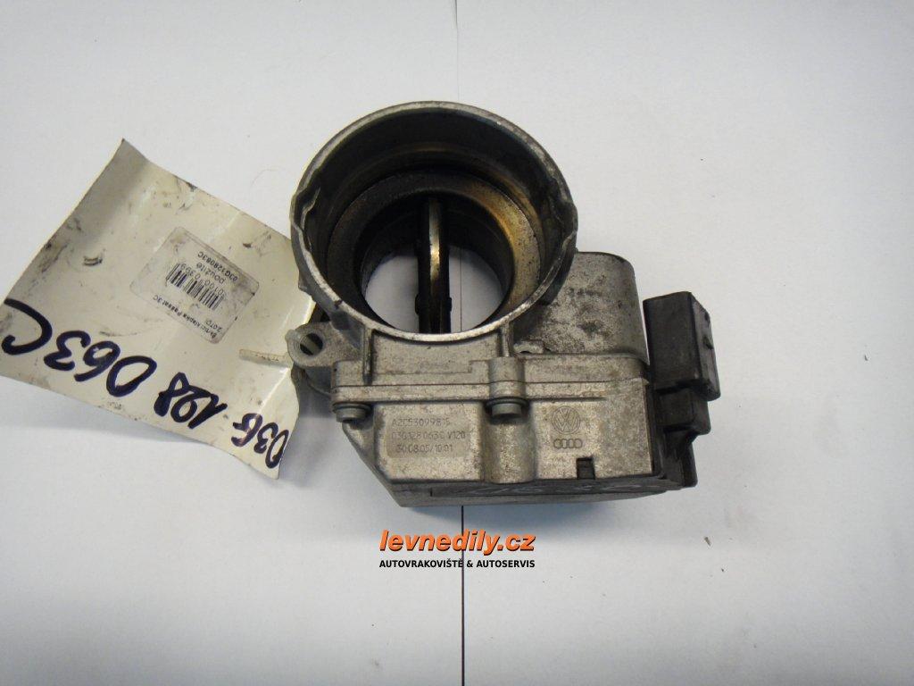Škrtící klapka, klapka sání VW Audi Škoda Seat 03G128063C