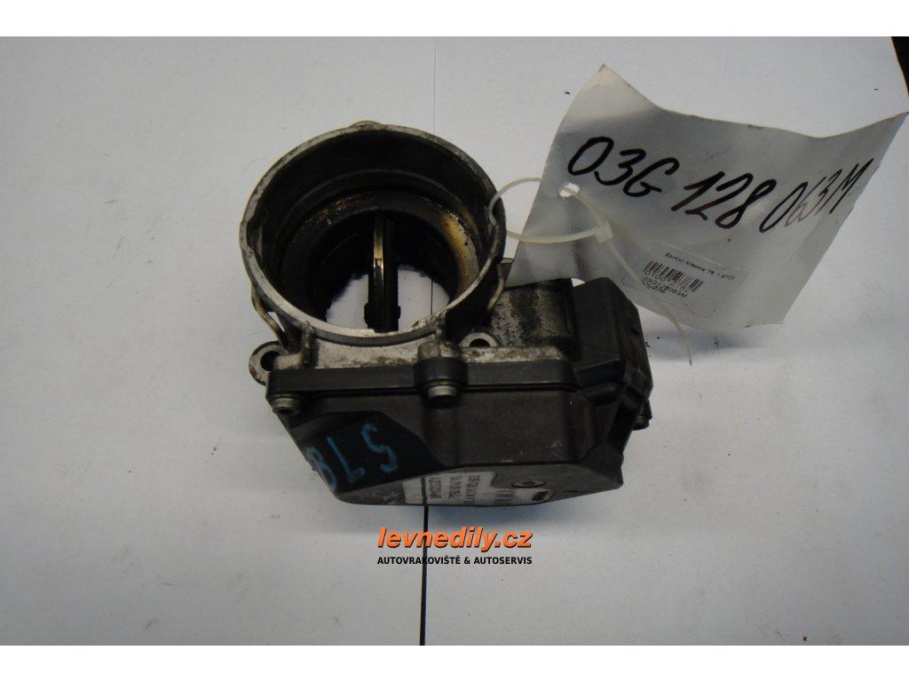 Škrtící klapka, klapka sání VW Audi Škoda Seat 03G128063M