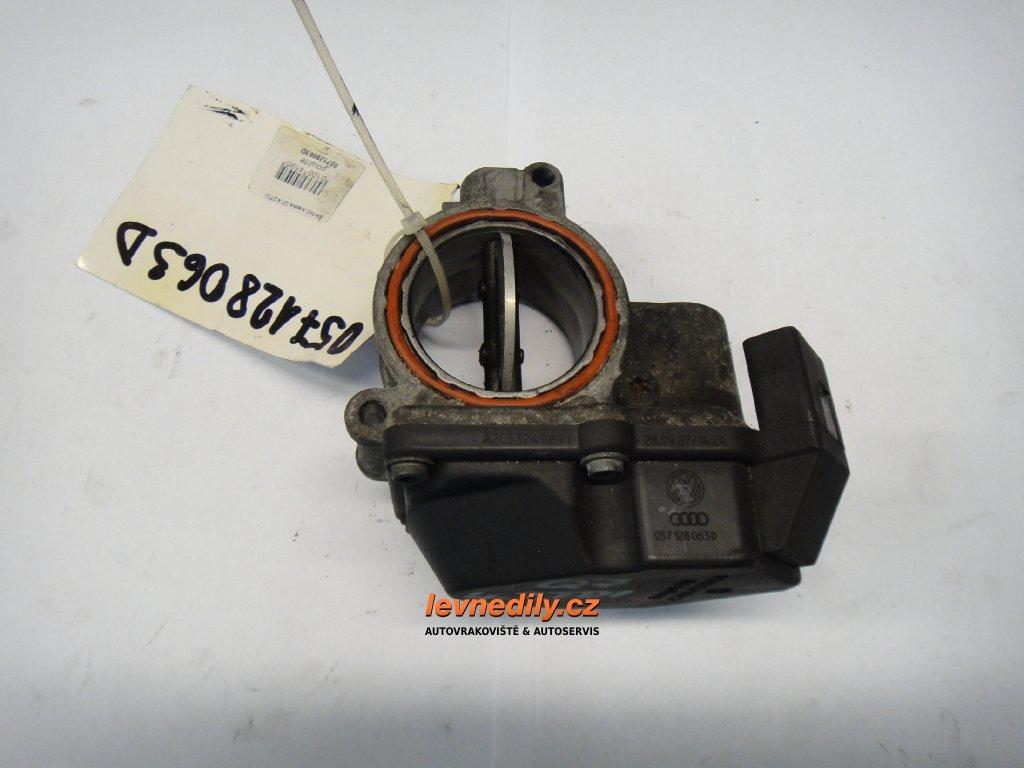 Škrtící klapka, klapka sání Audi 057128063D