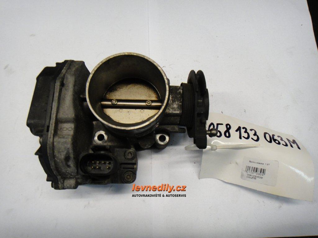 Škrtící klapka, klapka sání Audi VW 058133063M