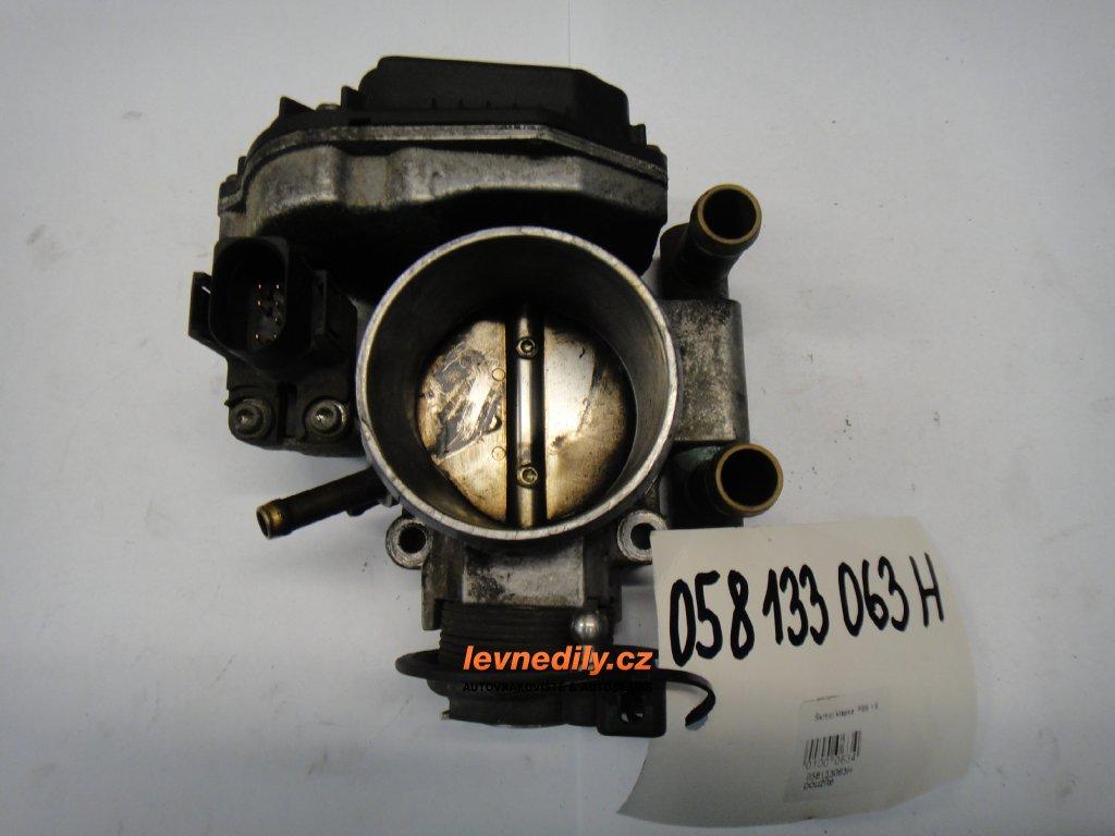 Škrtící klapka, klapka sání Audi VW 058133063H