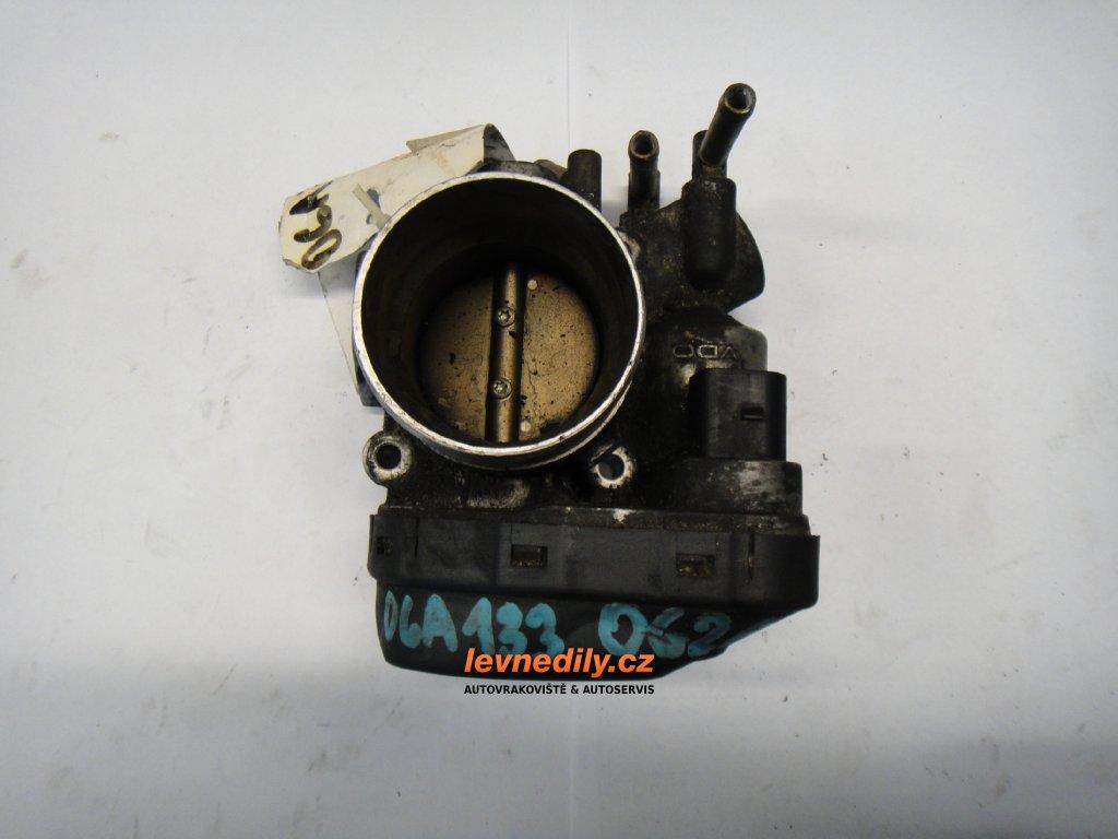 Škrtící klapka, klapka sání  VW 06A133062A