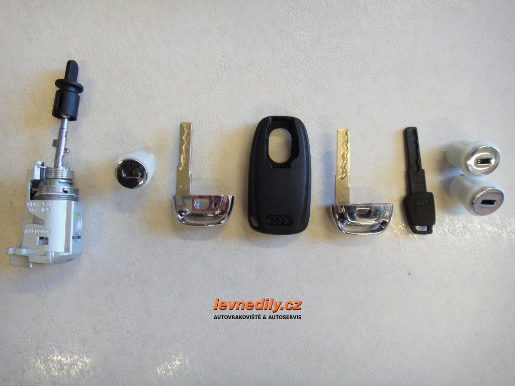 Sada vložky zámku s klíčem 8T1837167 Audi A5