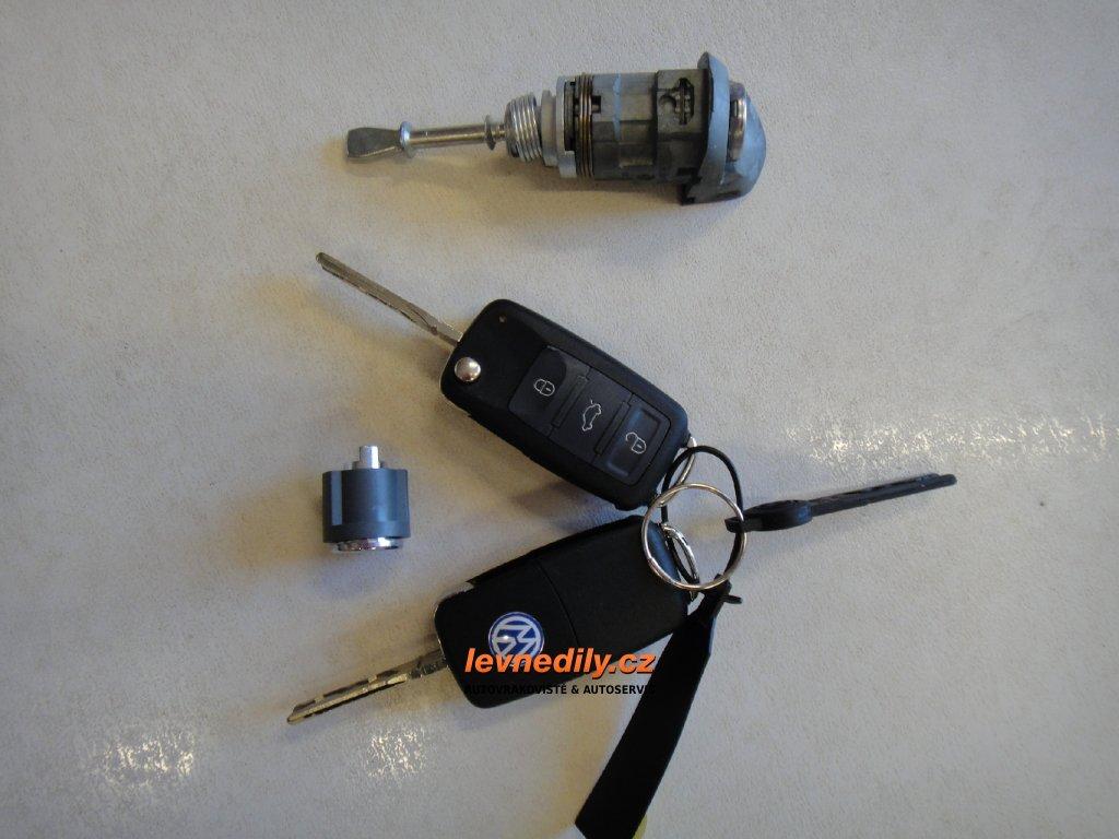 Sada vložky zámku s klíčem 7L6837167 VW Touareg