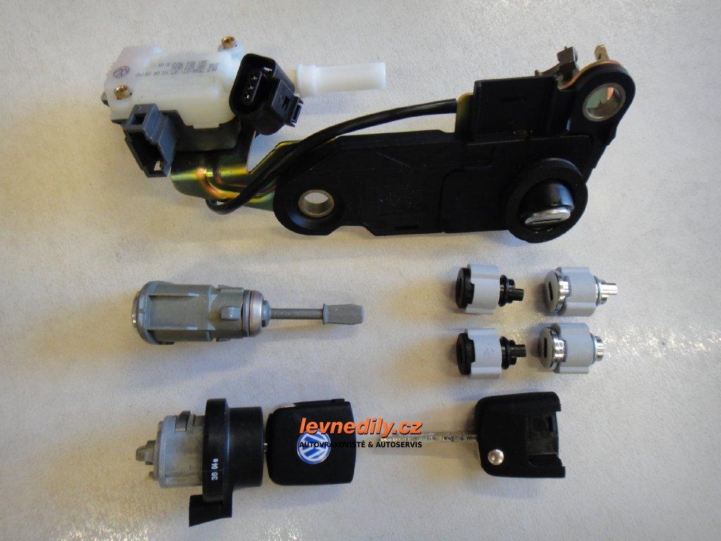 Sada vložky zámku s klíčem 3B0837167B VW Passat