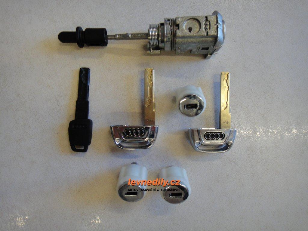 Sada vložky zámku s klíčem 4G0800375A Audi A6