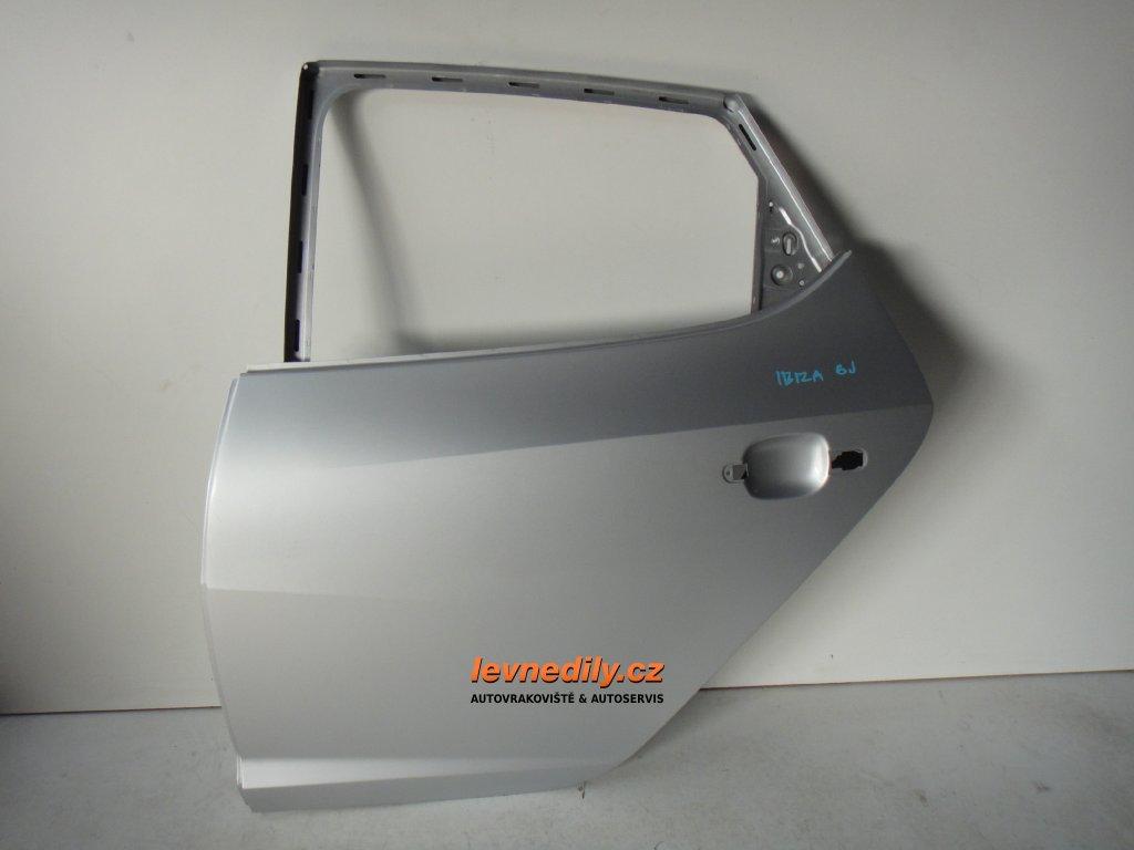 Levé zadní LZ dveře Seat Ibiza 6J4833056
