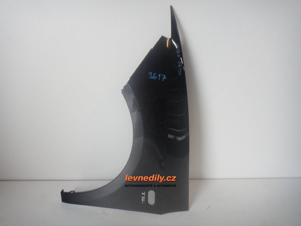 Levý přední blatník Seat Ibiza 6J 2009 a výš
