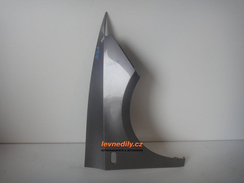 Pravý přední blatník Seat Ibiza 6J 2009 a výš