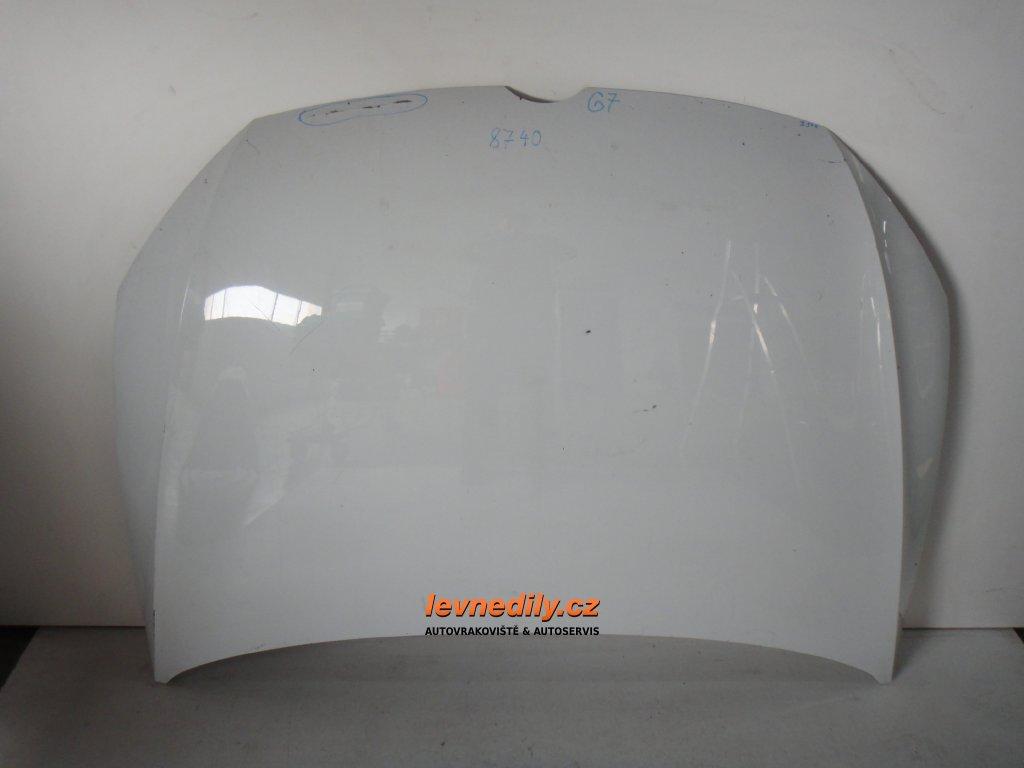 Přední kapota VW Golf VII