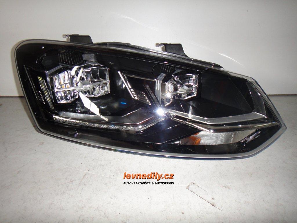 Pravý přední PP led světlomet VW Polo 6C1941036